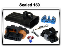 Metri-Pack Sealed 150 Series connectors, terminals and seals