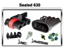 Metri-Pack Sealed 630 Series terminals, connectors and seals